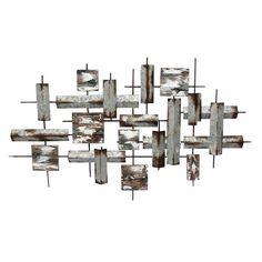GMPB 47X28 STACKED METAL Modern Wall Art, Metal Wall Art, Comics Maker, Sweet Home, Chandelier, Ceiling Lights, Wood, Libra, Supernatural