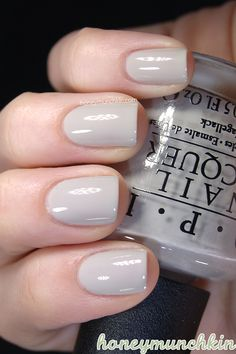 OPI - Skull and Glossbones @Dandi Aliff Jasinski this is the color I wore when I tried on your ring! LOVE IT!