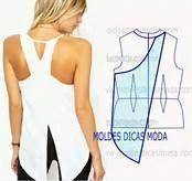 Resultados de la búsqueda de imágenes: Blusas Cruzadas Moldes - Yahoo Search