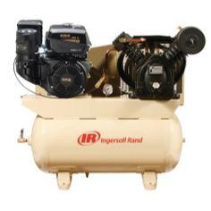Ingersoll Rand 14 HP Gas Drive Air Compressor - Kohler Engine IRT2475F14G