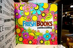 FreshBooks Trade Show Booth - Painted Canvas