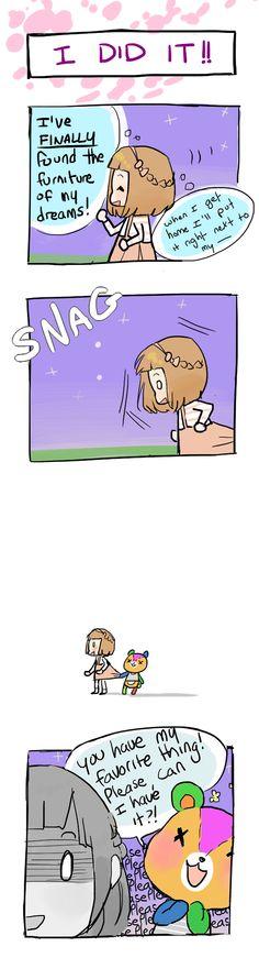 Animal Crossing... Enough said..