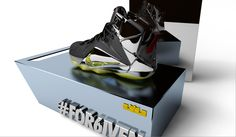 """Lebron 12 """"Lights Out"""" (custom + concept)"""