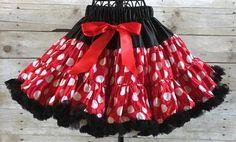 Minnie Mouse Pettiskirt