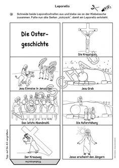 Die Ostergeschichte/Ostern (Bildkarten und Unterrichtsmaterial)