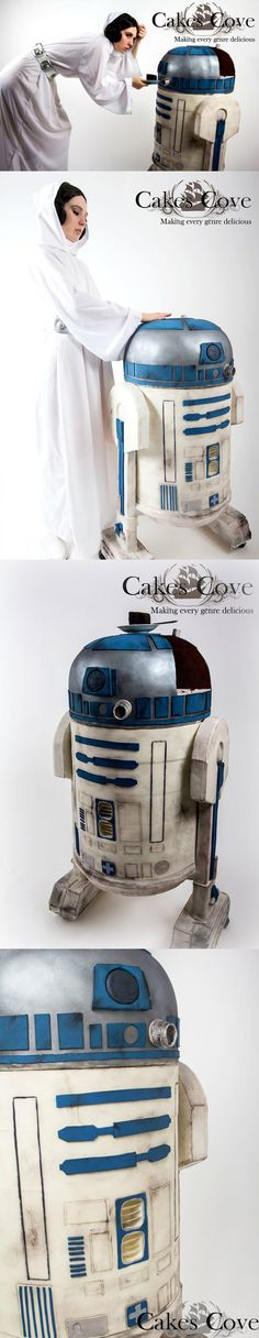 Life-Size R2-D2 Cake: The Droid Your Stomach Has Been Looking for