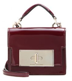 Marc Jacobs Mini Mischief patent leather shoulder bag