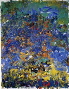 Joan Mitchell (1925-1992) - La Grande Vallée, 1983, oil on canvas source : http://art.moderne.utl13.fr