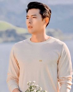 Hyun Bin, Ha Ji Won, Lee Jung, Paragliding, North Korea, Korean Actors, Korean Drama, Handsome, Celebs