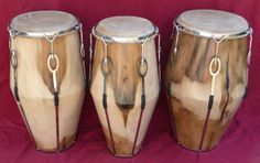 Manito Percussion... one piece conga hand drum construction with strap tuning gear... sooo beautiful...
