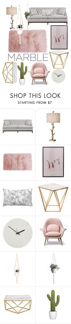 """""""Blush"""" by the-crazy-dog-lover ❤ liked on Polyvore featuring interior, interiors, interior design, home, home decor, interior decorating, Duralee, Bloomingville, Nuevo and Holly's House"""