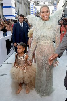 2016: After two year, Beyoncé was back on the red carpet — this time with 4-year-old Blue Ivy.