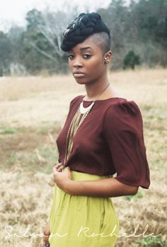 How will you style your new TWA (teenie weenie afro)? Look no further! Here are 25 ways to rock your TWA that are sure. Dreads, Mohawk Hairstyles For Women, Beautiful Hairstyles, Hairstyles Haircuts, Shaved Side Hairstyles, Braid Hairstyles, Hair Colorful, Curly Hair Styles, Natural Hair Styles