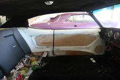chevelle fiberglass door panel for a custom modern touch: Custom Car Interior, Car Interior Design, Truck Interior, Automotive Upholstery, Car Upholstery, Custom Car Audio, Custom Cars, Chevy Ss, Vw Super Beetle