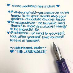 Esterbrook The Journaler Nib A Great Writer for Handwriting and Journaling 12 - Azizah Asgarali