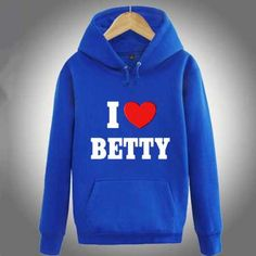 Riverdale I love Betty hoodie for teens pullover