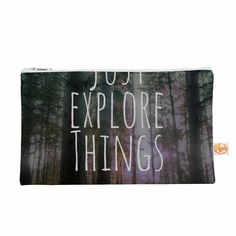 """Alison Coxon """"Just Explore Things"""" Green Photography Everything Bag"""