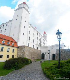 THE CASTLE -Bratislava Castle seats on the hill above the Old Town and Danube river. Bratislava Slovakia