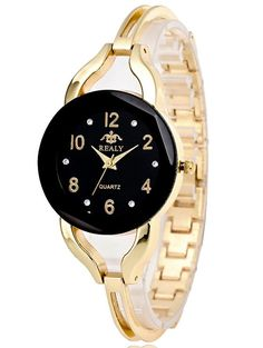 Rhinestone Stainless Steel Bracelet Watch #women, #men, #hats, #watches, #belts