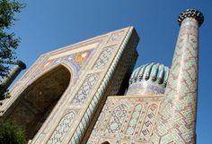 Registan, Samarkand, Uzbekistan #brilliant