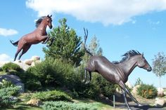 Horse Sculpture  -  Ruidoso, NM