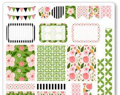 Alice in Wonderland Decorating Kit / Weekly Spread por PlannerPenny