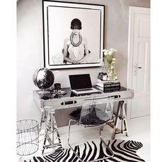 Home office Of Norwegian blogger Nettenestea~ obsessed