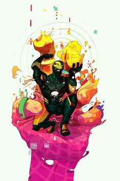 Iron Man vs Mandarin Marvel Avengers