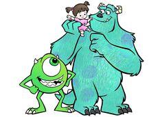 Monsters Inc. by spot1the2dog3.deviantart.com on @deviantART