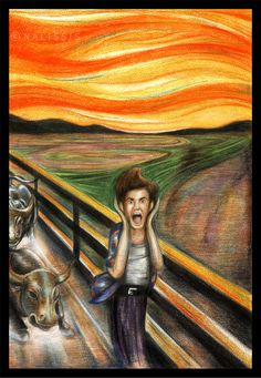 Krzyk - the Scream - Edvard Munch