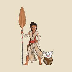 Rey costume diy, disney fan art, disney love, disney disney, disney b Disney Fan Art, Disney Love, Disney Magic, Disney Pixar, Disney Characters, Disney Princesses, Disney Bound, Rey Costume Diy, Diy Costumes