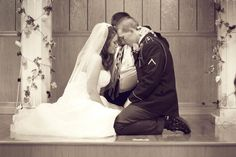 Such an awesome photo! #wedding #praying