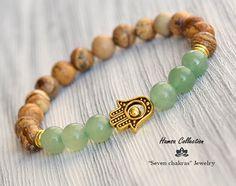 Gemstone Bracelets, Bracelets For Men, Fashion Bracelets, Gemstone Jewelry, Beaded Jewelry, Gothic Jewelry, Yoga Bracelet, Chakra Bracelet, Chakra Jewelry