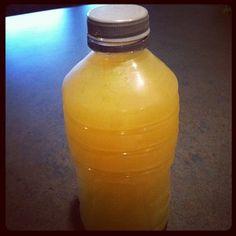 Healthy Drinks: Green Tea & Lemon Powerade