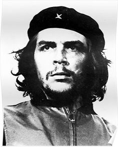 """Ernesto """"Che"""" Guevara - was an Argentine Marxist revolutionary who became well-known for his participation in the Cuban Revolution. Che Guevara Tattoo, Che Guevara Photos, Famous Atheists, Famous Geminis, Behance Portfolio, Ernesto Che Guevara, Totenkopf Tattoo, Foto Portrait, Painting Art"""