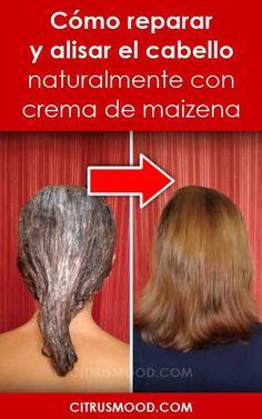 Cómo reparar y alisar el cabello naturalmente con crema de maizena Pelo Natural, Prom Hair, Hair Inspo, Body Care, Blonde Hair, Curls, Hair Beauty, Long Hair Styles, Healthy