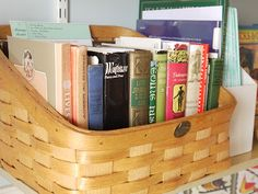 Charlotte Mason homeschooling: The morning basket.  Make into our Classical Morning Basket with Classical Notebooks