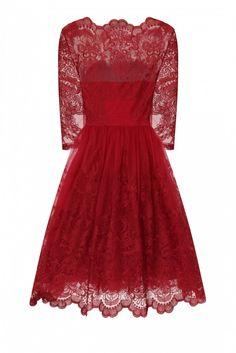 Chi Chi London AVIANA sukienka wieczorowa midi haftowana LUXYOU