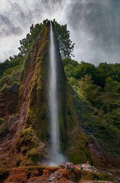 Waterfall in Serbia.