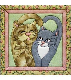 "Cats Meow Quilt Magic Kit-12""X12"""