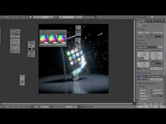 ▶ Smash an iPhone in Blender - YouTube