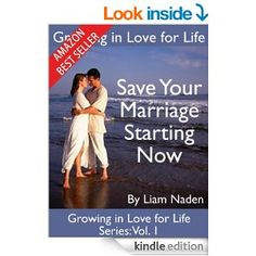 Are you struggling with your marriage and facing divorce? The solution to saving your relationship is probably a lot closer than you think!  In this new series of books, acclaimed marriage and relationship coach Liam Naden will introduce you to a completely new way to deal with your marriage problems.
