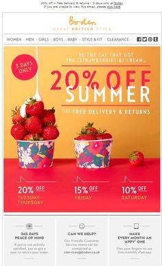 Johnnie Boden 280513_20%off Summer 3 days only + Free D