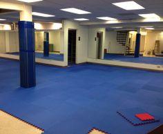 Amazing martial arts studio! #diy #foamtiles