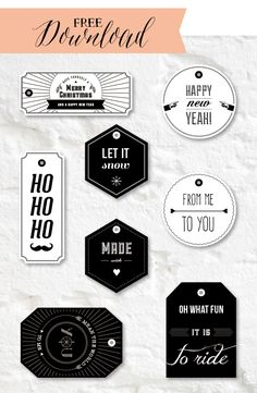 free download gift tags via sodapop-design