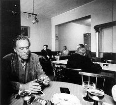 """My beerdrunk soul is sadder than all the dead christmas trees of the world.""    Charles Bukowski (German-American, 1920-1994)"