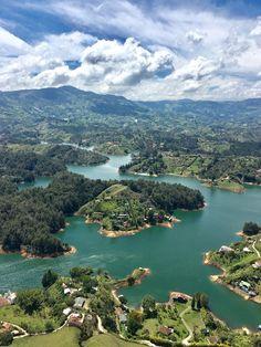 La Piedra del Penol, Guatape, Colombia River, Outdoor, Tropical Rain Forest, South America, City, Cartagena, Rock, Viajes, Outdoors