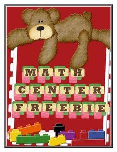 Math Center {FREEBIE}