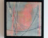 "Original Encaustic Painting - ""Day's End 3"" by Katie C. Gutierrez"