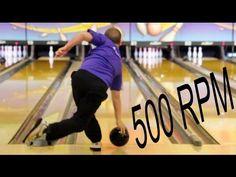 Super Slow Motion Bowling Release of Payton Giambrone (High Rev Tweener/Cranker)
